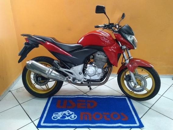 Honda Cb 300 R 2014 Vermelha