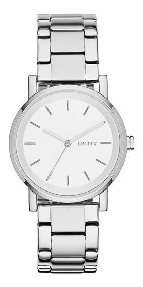 Reloj Dama Dkny Ny2342 Color Plata De Acero