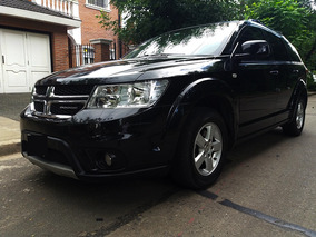 Dodge Journey 2.4 Sxt 3 Filas Negra 2012 Full Excelente