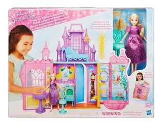 Palacio De Princesas Y Muñeca Rapunzel
