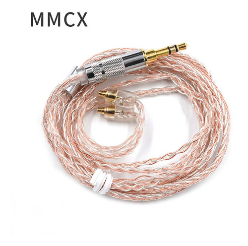 Imagen 1 de 10 de Cable Trenzado De Plata De Cobre Phoe Kz Para Zst/zs10/as10/