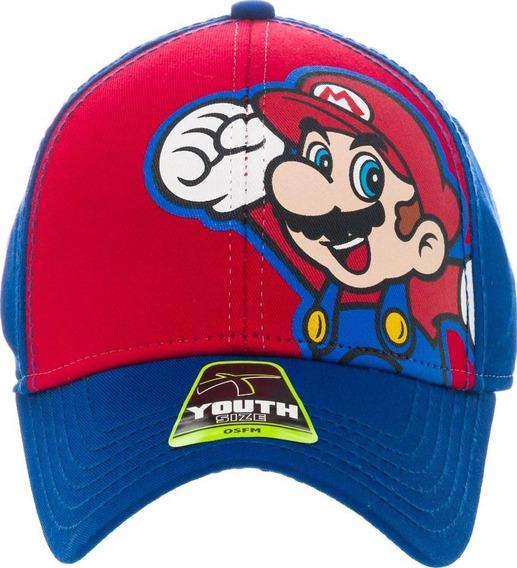 Gorra Original Licenciada Nintendo Edicion Super Mario