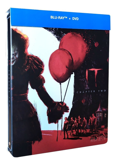 It 2 Eso Dos Steelbook James Mcavoy Pelicula Blu-ray + Dvd