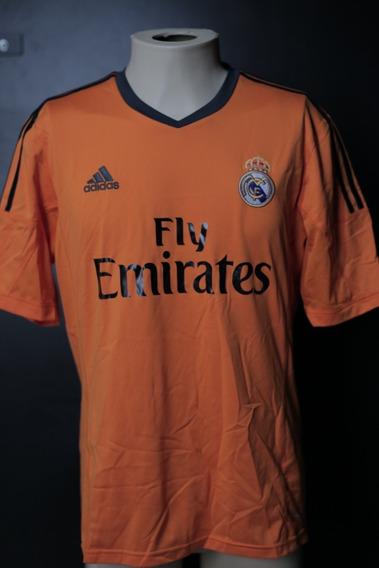 Camisa Real Madrid 2013/14 - Laranja - Sem Número