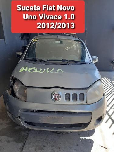Sucata Fiat Novo Uno Vivace 1.0 2012/2013