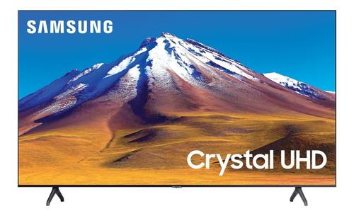 Combo Televisor Samsung 4k Tu6900 + Barra De Sonido W400