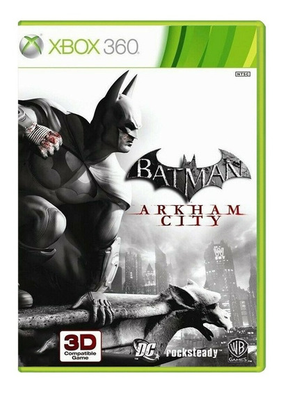 Batman Arkham City - Xbox 360 - Usado - Original - Física