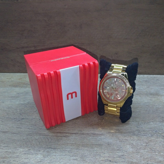 Relógio Mondaine Feminino 76642lpmvde1 Dourado