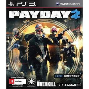 Payday 2 (mídia Física) - Ps3 (novo)