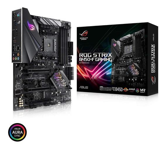 Mother Asus Rog Strix B450-f Gaming Am4 Ddr4 3200 Tienda Of