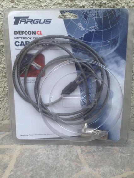 Cable Guaya De Seguridad En Acero Para Laptop Marca Targus