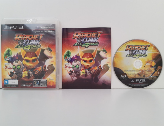 Ratchet Clank All 4 One Ps3 Completo Playstation 3