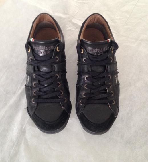 Sneakers Pantofola D´oro De Piel Originales, Talla 7