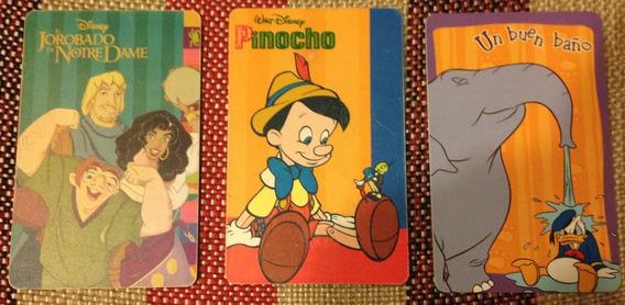 Tarjetas De Telefono De Disney Antiguas