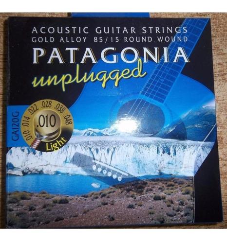 Encordado P/ Guitarra Acústica Patagonia 010 Electroacústica