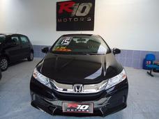 Honda City 1.5 Lx Flex Bancos Em Couro 2015