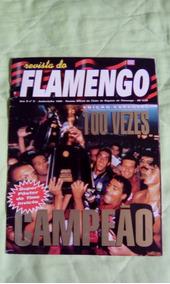Revista Do Flamengo - Campeão Estadual 1996.
