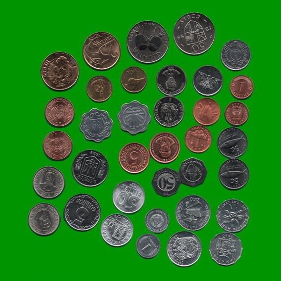 Monedas Extranjeras Cantidad(18) Distintos Paises Estado Unc