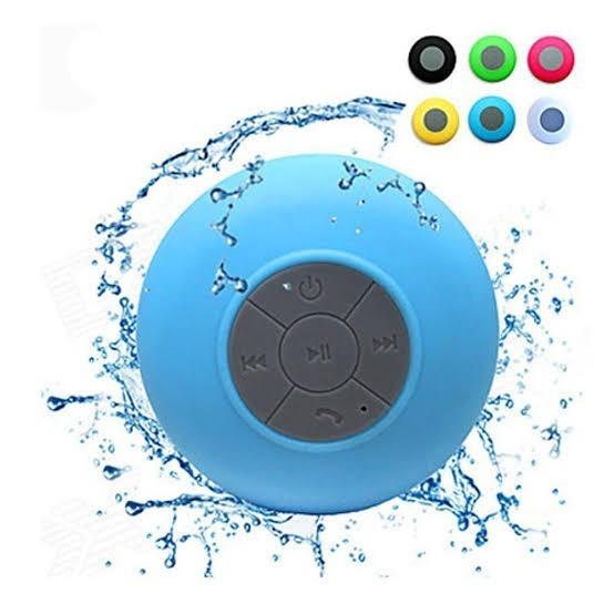 Caixa De Som Banheiro Prova Dágua Bluetooth iPhone Samsung