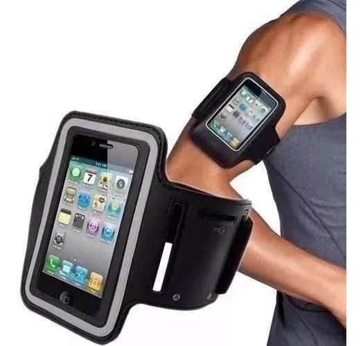 Suporte Corrida Braço Armband Celular Moto G2 G E X iPhone