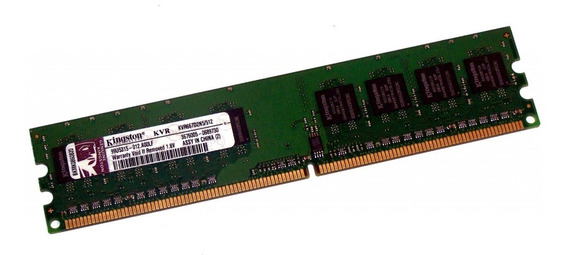 Memoria Kingston Ddr2 1×512mb Kvr667d2n5/512