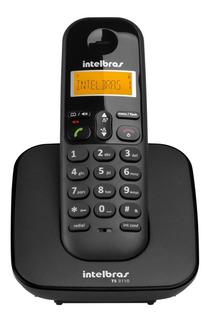 Telefone Sem Fio Intelbras Ts3110 Preto