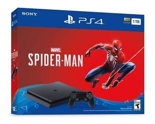 Ps4 Play Station 4 Slim 1tb +spider-man Marvels