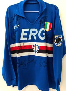 Camisa Sampdoria 19991/92 Mangas Longas Raríssima