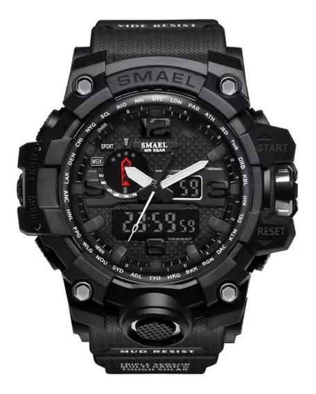 Relógio Masculino Tático Militar Digital Smael 1545 Original