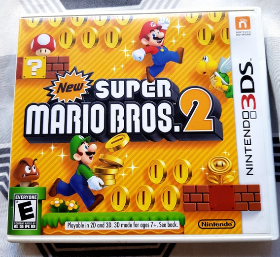 New Super Mario Bros 2 Para Nintendo 3ds E 2ds
