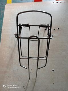 Porta Equipaje Bici Rodado 16 Cromado Usado Fácil Instalar