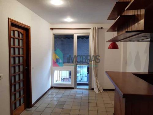 Imagem 1 de 7 de Cobertura Sala-quarto No Bairro Gávea Com Varanda E 2 Vagas. - Boco10013