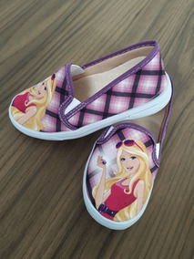 Tênis/ Sapatenis Infantil Personagem Barbie