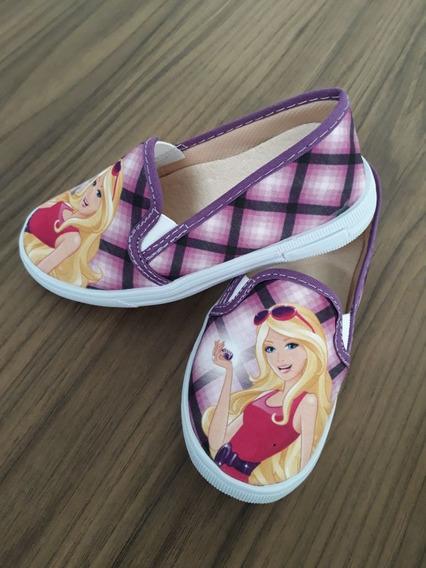 Tênis/ Sapatenis Infantil Feminino Personagem Barbie