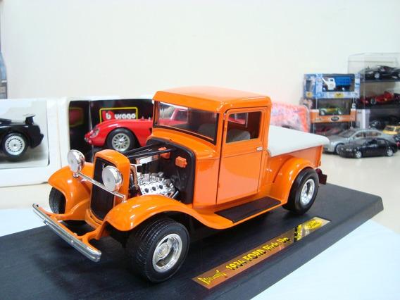 Miniatura Ford Pickup Pro Street 1934 Hot 1/18 Road Legends
