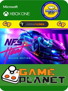 Need For Speed Deluxe - Xbox One - Modo Local + En Linea