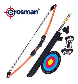 Arco Compuesto Crosman Upland Kit Con 2 Flechas Y Regalos
