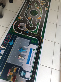Pista Hot Wheels Pista + Aeroporto Mega -- Mais Vendida!
