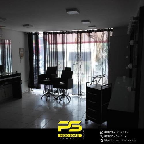 Imagem 1 de 14 de Prédio Para Alugar, 1.200 M² Por R$ 15.000/mês - Manaíra - João Pessoa/pb - Pr0050