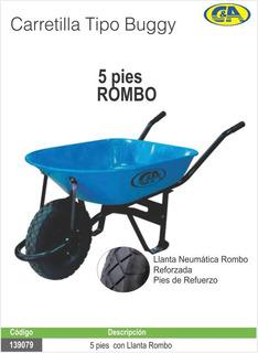 Carretilla T/buggy C/llanta Ref T/rombo 5p C&a