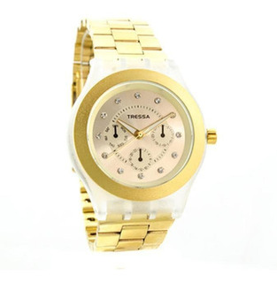 Reloj Tressa Shinny Dama Acero Tipo Swatch Wr