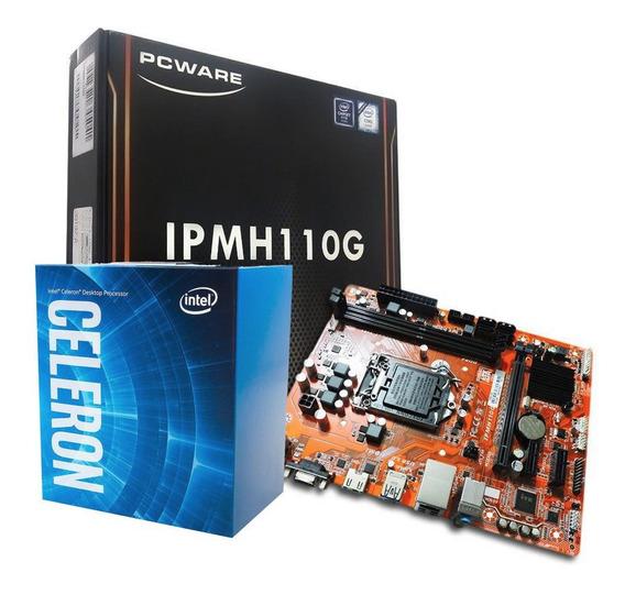 Kit Processador Celeron 3900 Ipmh110g Com Nota Fiscal
