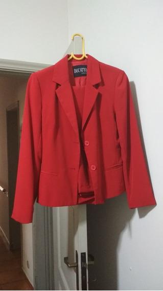 Terno Vermelho Feminino
