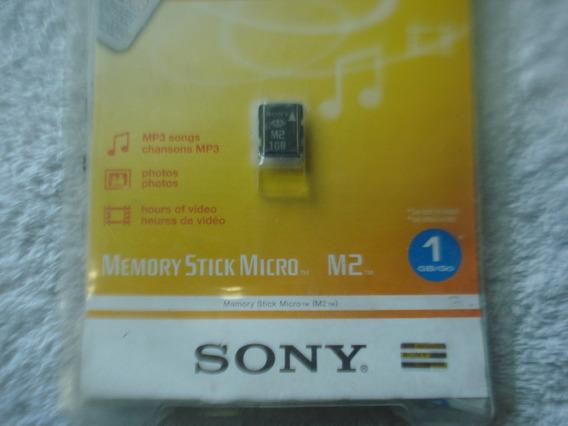 Cartão M2 1gb Sony