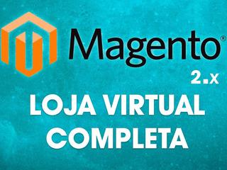 Magento 2 - Loja Completa + Módulo Correios + Pagseguro