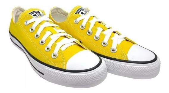 Tênis Converse All Star Ct As Core Ox Amarelo Original