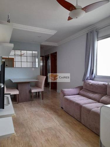 Imagem 1 de 15 de Apartamento Com 2 Dormitórios À Venda, 52 M² Por R$ 224.000,00 - Jardim Das Oliveiras - Campinas/sp - Ap7809
