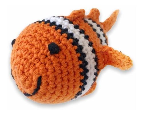Juguete Para Gatos Nemo Tejido A Mano Simple Pet