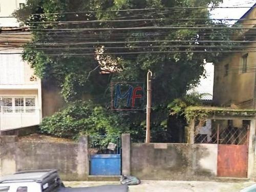 Imagem 1 de 2 de Ref 7893 - Terreno  Com 162 M²  Fácil Acesso Metro Saúde, Praça Árvore E S.judas - 7893