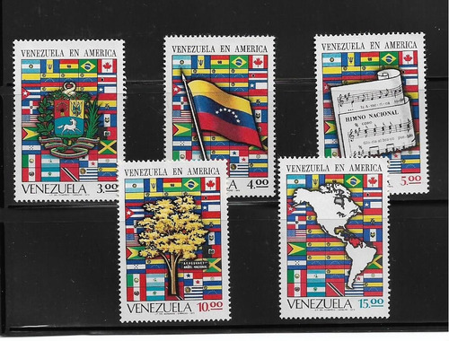 Imagen 1 de 2 de Serie Estampillas De Venezuela  1972  Nuevas